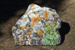 acryl op eiken paneel, 20 x 24 cm, particulier bezit