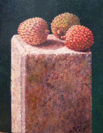 olieverf op paneel, 16x12 cm, particulier bezit
