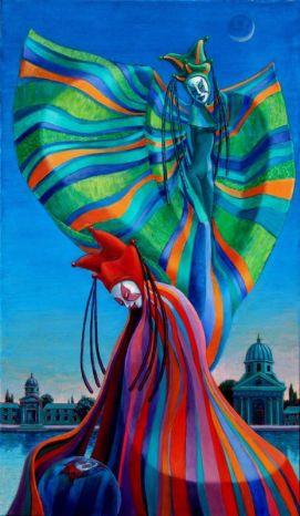 acryl op doek, 120x70 cm, particulier bezit