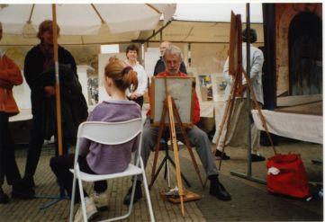 10 minuten schets kunstmarkt Doorn