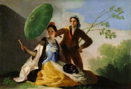 Goya, El quitasol 1777