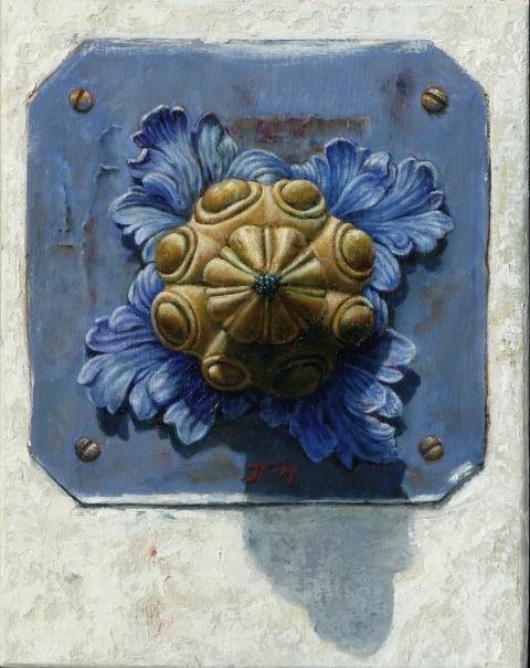 olieverf op paneel, 25x20 cm, euro 225,-