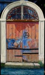 olieverf op paneel, 122x72 cm, euro 1295,-